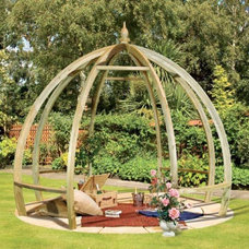 Contemporary Gazebos by GardenSite