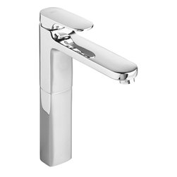 American Standard - American Standard 2506.151.002 Moments Vessel Faucet, Polished Chrome - American Standard 2506.151.002 MomentsSingle Control Vessel Faucet, Polished Chrome. This single lever vessel bathroom faucet features a brass construction for a durable, long-lasting performance, a multiport ceramic disc valve cartridge, an adjustable hot limit safety stop, and a low-lead composition.