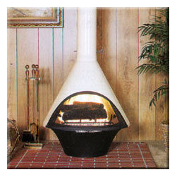Malm Lancer - I would definitely install a Lancer fireplace in my living room to take things up a notch on the chic-o-meter.