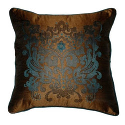 Home Decorators Collection - Crestwood Pillow - The Crestwood Pillow features a soft polyester construction and an intricate pattern reminiscent of Indian henna art. Available in your choice of striking color combinations, these home accents will complement any space in your home with elegant ease. Order yours today. Expertly crafted from polyester for years of lasting beauty. Transitional design will enhance a wide range of home decor styles. Multiple color options available.