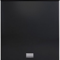 "Frigidaire - Gallery FGHD2455LB 24"" Full Console Built-in Dishwasher with 14 Place Settings - The Frigidaire FGHD2455L operates at an average noise level of 51 dB which is the average for all Built In Dishwashers The Frigidaire FGHD2455L has the following wash cycles Heavy Light Normal and Rinse  Hold The following features come standard on t..."