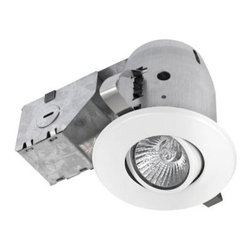 Globe Electric - Globe Electric 3.25 in. Recessed White Sleek Swivel Lighting Kit 90679 - Shop for Lighting & Fans at The Home Depot. Globe Electric 90679 3.25 in. Recessed Sleek Swivel Lighting Kit, White Finish. Quick and Easy Installation: includes extra-wide, patented clips that grip uneven holes and surfaces to secure effortlessly into position. Superior fit for a smarter, faster installation. Focus light in any direction you want. Globe recessed light fixtures are the ideal choice for kitchens and home offices; highly focused light illuminates small areas. This recessed lighting multi pack includes four 3-in. metal gimbals recessed cans and includes four 50-watt MR16 gu10 based light bulbs.