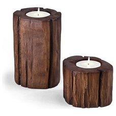 Eclectic Candleholders by DecorUniverse