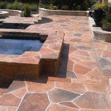 Modern Hot Tub And Pool Supplies by Sundek