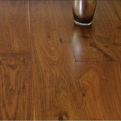 Oil Finish Walnut - Oil Finish Walnut Prefinished Engineered Hardwood Flooring