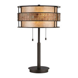 Quoizel Lighting - Quoizel MC842TRC Laguna Renaissance Copper Table Lamp - 2, 60W A19 Medium