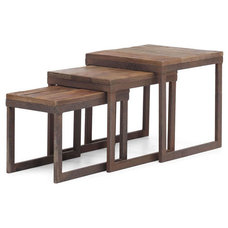 Rustic Side Tables And End Tables by Indeed Decor