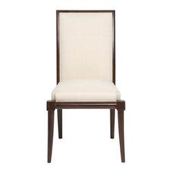 Vanguard Furniture - Vanguard Furniture Franklin Square Side Chair 9702S - Vanguard Furniture Franklin Square Side Chair 9702S