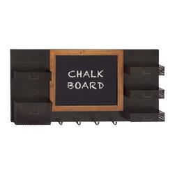 Fantastic Wood Chalk Board Hook - Description: