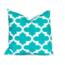 Lattice Fynn Premier Prints Decorative Pillow by Festive Home Decor - Yay for Festive Home Decor! I have been spending way too much time perusing all the pillow covers in their Etsy shop. I hope to make a decision soon!