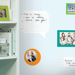RR - Notepad Dry Erase Peel & Stick Wall Decals - Notepad Dry Erase Peel & Stick Wall Decals