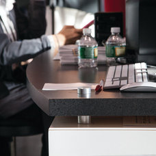 Modern Home Office by Gyford StandOff Systems