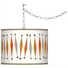 Custom Pattern Art Shade Lighting | LampsPlus.com