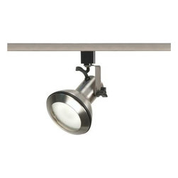 Glomar - Glomar 1-Light PAR30 Euro Style Track Head in Brushed Nickel HD-TH331 - Shop for Lighting & Fans at The Home Depot. With its euro style design this track head is stylish yet practical. This track head can find itself at home in many applications. This track head uses (1) par30 75W max. bulb (sort neck) (not included). This track head is beautifully finished in Brushed Nickel.