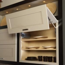 Contemporary Kitchen Cabinetry by Wellborn Cabinet, Inc.