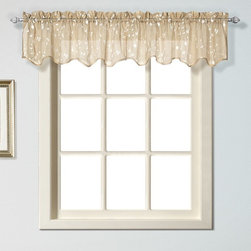 United Curtain - United Curtain Savannah Window Valance - SAVVAOY - Shop for Curtains and Drapes from Hayneedle.com! Top windows with the embroidered elegance of the United Curtain Savannah Window Valance.About United Curtain CompanyUnited Curtain Company is based in Avon Massachusetts. This company provides quality curtains window treatments and slip covers designed to dress your home in style. United Curtain home decor items are made of exceptional fabrics in patterns and colors that range from classic to contemporary. Elegant details paired with sumptuous fabrics or casual prints in comfy cotton duck United Curtain Company has all you need to create a home that inspires you and showcases your personality.