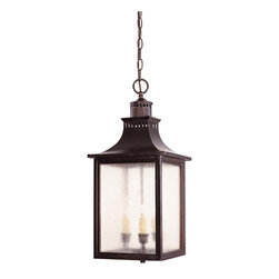 Savoy House - Savoy House Monte Grande Hanging Lantern - Finish: English Bronze