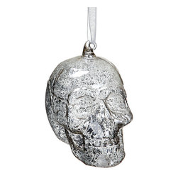 Silk Plants Direct - Silk Plants Direct Skull Ornament (Pack of 12) - Silver - Pack of 12. Silk Plants Direct specializes in manufacturing, design and supply of the most life-like, premium quality artificial plants, trees, flowers, arrangements, topiaries and containers for home, office and commercial use. Our Skull Ornament includes the following: