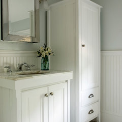 traditional bathroom vanities and sink consoles by Celia Bedilia