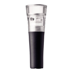 MENU - Selection Vacuum Stopper - You'll never waste a good bottle of wine again when your bar is stocked with a quality stopper. The vacuum stopper seals an open bottle for up to six days by removing all the air from the bottle. It's a must-have for any wine lover.