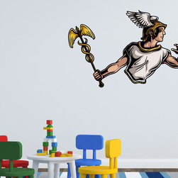 Greek God Vinyl Wall Decal GreekGodUScolor020; 72 in. - Vinyl Wall Decals are an awesome way to bring a room to life!