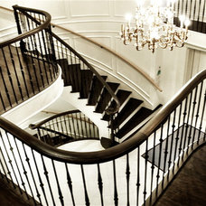 Traditional Staircase by S A Woodworking Ltd.