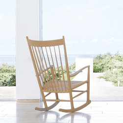 Hans Wegner J16 Rocker - Hans Wegner's iconic chair designs never go out of style, mainly because they balance form and function so deftly. I could easily see this rocker being passed down from generation to generation in a family.