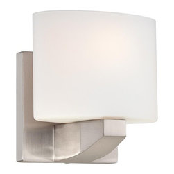 Minka Lavery - Minka Lavery ML 5241 1 Light Bathroom Sconce from the Modern Craftsman Collectio - Single Light Bathroom Sconce from the Modern Craftsman CollectionFeatures: