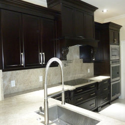 Contemporary Kitchen Cabinetry - Designed Built & Installed by Visions.