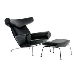 Fine Mod Imports - Modern Big Chair and Ottoman - Features: