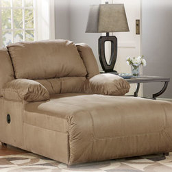 Stylish Seating - Hogan - Mocha Pressback Chaise