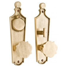 Contemporary Door Hardware Paris Entry Set