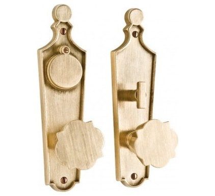 Contemporary Knobs Paris Entry Set