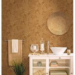 Wallcoverings - Bathroom - Let the light come into your indoors and reflect the purity of your wallcovering