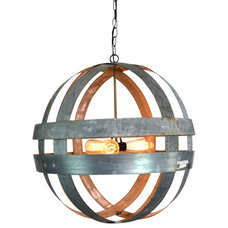 Rustic Chandeliers by Wine Country Craftsman