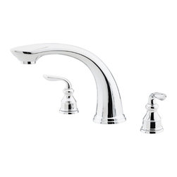 Price Pfister - Pfister RT6-5CBC Avalon Roman Tub Faucet Trim - Price Pfister RT6-5CBC is an Avalon Series Roman Tub Trim Only. Valve and Handles Not Included.