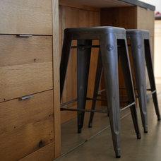 Modern Kitchen Reclaimed oak island