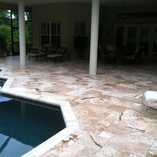 Tropical Swimming Pools And Spas by RockImport.com