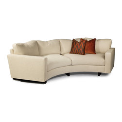 Clip Curved Sofa from Thayer Coggin - Thayer Coggin Inc.