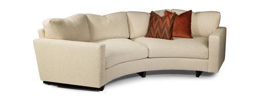 Clip Curved Sofa from Thayer Coggin - Thayer Coggin Inc.