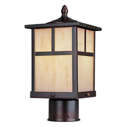 Maxim Lighting - Maxim Lighting 85055HOBU Coldwater EE Mission Outdoor Post Light in Burnished - Maxim Lighting 85055HOBU Coldwater EE Mission Outdoor Post Light In Burnished