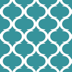 """Indigo Root - Tilez Peel & Stick Wallpaper Squares - Classy Clean, Teal, 12""""x12"""" 10-Pack - 12""""x12"""" Peel and Stick Tilez squares are made of a polyester fabric material and are environmentally safe. Bio-degradable over time. Since Tilez are non-toxic, they are great for infant and kids rooms! Transform small spaces. Refurbish old furniture. Create a non-slip dinner table runner. Tilez allows you to easily create stripes on a wall with in seconds! This material does not rip or wrinkle and is not required to be removed over time. Results may vary on stucco and other surfaces that are not smooth & clean."""