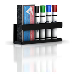 Herman Miller - Herman Miller Marker and Eraser Holder - Meetings have met their match. This holder keeps dry-erase markers and an eraser neatly corralled and at the ready, attaching to virtually any surface with Velcro.