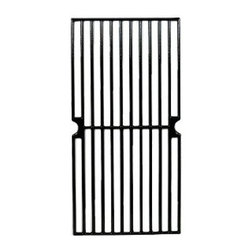 "Music City Metals - gloss cast iron cooking grid; Kenmore,Master Forge,Permasteel; 17.625"" x 8.75"" - matte cast iron cooking grid, 17.625"" x 8.75""; Kenmore 148.16656010,Master Forge SH3118B  Replacement part for propane gas bbq and barbeque grills  Replacement part for propane gas bbq and barbeque grills"