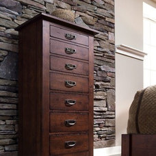 Traditional Dressers by National Furniture Supply