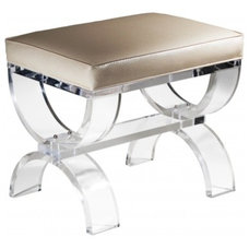 Contemporary Indoor Benches by Plexi-Craft