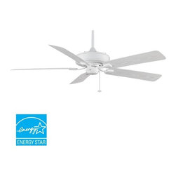 "Fanimation - Fanimation Edgewood Deluxe Wet 60"" 5 Blade Energy Star Outdoor Ceiling Fan - Bla - Included Components:"