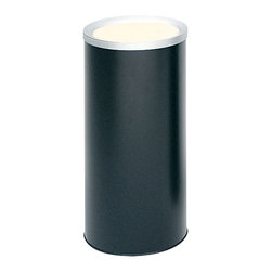 "Safco - Ash Urn - Black - A discreet Ash Urn to compliment the appearance of indoor smoking areas while keeping them free of cigarette litter. Durable heavy-gauge steel body topped with a non-marring anodized, spun aluminum ash tray.; Features: Material: Steel; Color: Black; Finished Product Weight: 6 lbs.; Assembly Required: No; Limited Lifetime Warranty; Dimensions: 10""Dia. x 20""H"