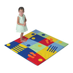 Childrens Factory - Children's Factory Colorful Feet Activity Mat Multicolor - CF362-602 - Shop for Gyms and Play Mats from Hayneedle.com! About The Children's Factory Kirkwood Mo 1982 - The Childrn's Factory was created in the attic of its founders. Their vision was to create a soft play environment where children could play safely. They started with a basic 3D animal shape perfectly sized for a young child. From there other products were developed and the company quickly grew in size. Soft safe creative play is their passion. Their products are designed towards ASTM standards and their materials meet or exceed the CPSIA requirements.