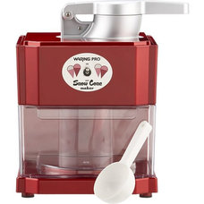 Waring® Red Metallic Snow Cone Maker in Specialty Appliances | Crate and Barrel